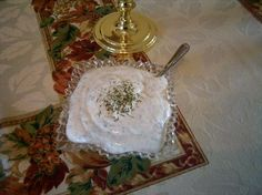 Sour Cream Dill Sauce To Serve With Salmon