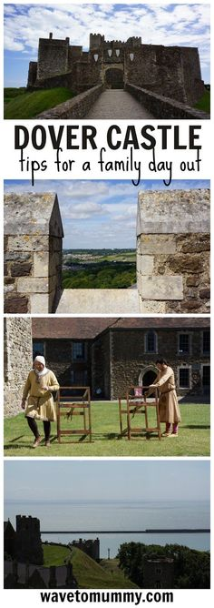 A family day out at Dover Castle - Dover Castle is a gorgeous location right on the coat and one of English Heritage sites. It is a great place to visit with family. This post includes a lot of pictures and tips for a perfect family day out. Click on the post to see more.