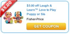 *HOT* Target: Fisher-Price Laugh & Learn Love to Play Sis Only $4.19 (Reg. $19.99!) - Raining Hot Coupons