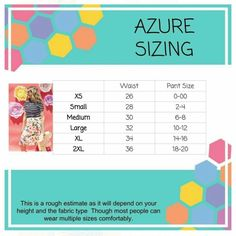 Azure Skirt Sizing With Measurement