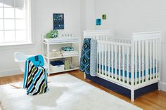 Can't get enough of this Happy Chic Baby by @Jonathan Nafarrete Adler modern crib bedding! #nursery #crib #modern @Noreen Carrasco-Johnson #PNapproved