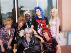 """The whole cast of """"Demyx Time"""". If you like Kingdom Hearts, these people are epic!"""