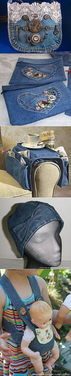 Jeans idee riciclo: