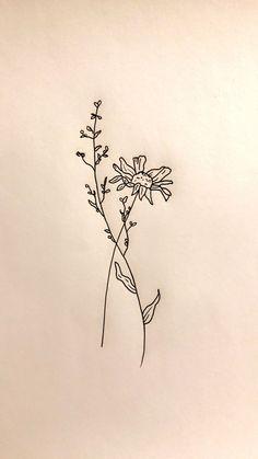 flower tattoo design drawn by me :)
