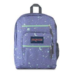 JanSport Big Student Backpack - Galaxy for sale online Big Backpacks, School Backpacks, Leather Backpacks, Leather Bags, Messenger Backpack, Backpack Bags, Duffle Bags, Handbags For School, School Bags