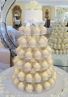 Torta boda cupcakes
