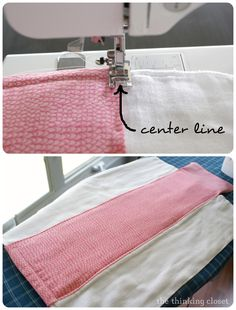 Burp cloth tutorial for the beginner sewist baby шитье, лоск Baby Sewing Projects, Sewing Tutorials, Sewing Ideas, Sewing Tips, Diy Projects, Sewing Crafts, Sewing Patterns, Love Sewing, Sewing For Kids