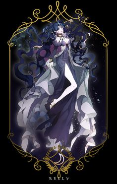Sailor Moon fan art by Relly. Sailor Moons, Sailor Moon Manga, Sailor Moon Villains, Arte Sailor Moon, Sailor Moon Fan Art, Sailor Saturn, Sailor Scouts, Sailor Moon Kristall, Sailor Moon Personajes