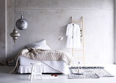 bedroom - boxspring - slaapkamer - interieur