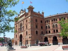 Las Ventas, the bullring in Madrid, where we meet Luna Montgomery, our lead female character.