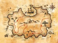 EB1 ALDEIA DE JOANES: Fevereiro 2014                                                                                                                                                                                 Mais Treasure Maps For Kids, Pirate Treasure Maps, Pirate Maps, Neverland Map, Map Cake, Octonauts Party, Show Da Luna, Fantasy Map, Pirate Birthday