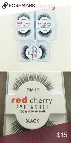 Red Cherry Black False Thick Eyelashes Item specifics - False Eyelash Material: Human Hair - False Eyelashe Length: 1cm-1.5cm - False Eyelashes Terrier: Plastic Black Terrier - False Eyelashes Style: Thick  Product Description - 100% Brand new, high quality. - Look real and natural, feel comfortable. - Designed to look natural and feel great for everyday use - Weightless, permanently curled and waterproof. - Handmade--more comfortable and beautiful! - Material: 100% Human Hair and high…