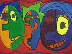picasso-inspired art lesson