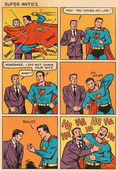 Super Antics #1 with Superman