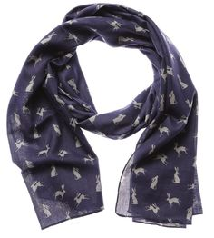 Shruti Designs RSPCA Midnight Hare Blue Scarf available in store and online from Beautifully Gifted Online Gift Shop, Online Gifts, Unusual Gifts For Her, Online Birthday Gifts, Shape Pictures, Work Gifts, Large Scarf, Gifts For Pet Lovers, Romantic Gifts