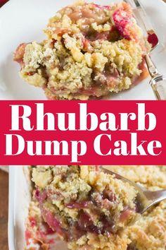 Köstliche Desserts, Delicious Desserts, Homemade Desserts, Health Desserts, Health Foods, Dessert Recipes, Dessert Blog, Yummy Food, Easy Rhubarb Recipes