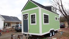 Allison and Eric Hopkins address the potential challenges of living in a tiny house as a couple.