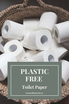 Plastic Free Toilet Paper That Lets You Wipe with a Clean Conscience Recycling Facility, Plastic Packaging, Food Waste, Toilet Paper, Biodegradable Products, Cleaning, Lifestyle Changes, Eco Friendly, Shampoo