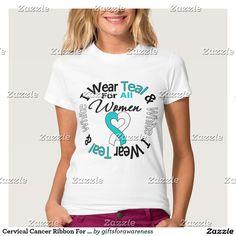 Cervical Cancer Ribbon For All Women Shirt