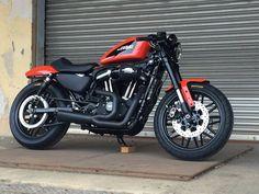 Custom Harley-Davidson XL 1200 Sportster® Roadster 2017 | Screamin'Eagle Stage 1 kit #harleydavidsonsportster1200