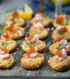 Swedish Recipes, Good Enough To Eat, Party Snacks, Raw Food Recipes, Afternoon Tea, Summer Recipes, Tapas, Good Food, Brunch