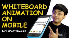 How To Create White Board Animation On Mobile