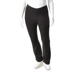 Pantalon en point de Rome pour dames de tailles fortes N.W.D. Maintenant 12,00$         Était    22,00$ Point, Dame, Sweatpants, Fashion, Moda, Fashion Styles, Sweat Pants, Jumpsuits, Fashion Illustrations
