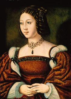 Infanta Isabel de Portugal (1503-1539), painted by Joos Van Cleve - National Museum of Ancient Art