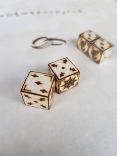 Prison Dice made from bone of cows.Handmade from Armenia