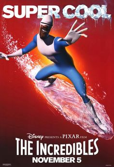 *THE INCREDIBLES, Poster