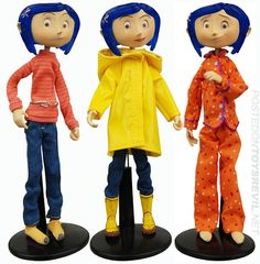 TOYSREVIL: A Look at Coraline Bendy Dolls from NECA