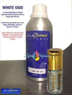 WHITE OUD 3ml Concentrated Perfume Oil Zamani Saudi Clean Oudh Fragrance Oudh #Zamani