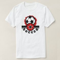 Soccer Men's Basic T-Shirt - tap, personalize, buy right now! Sport T Shirt, Shirt Style, Baby Kids, Your Style, Shirt Designs, Apparel Clothing, Hoodies, Mens Tops, Soccer