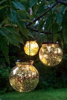 Wire Sphere Solar Garden Stake   Gardeners.com