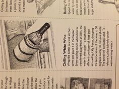 Great, fast, way to chill white wine! (@Cook's Illustrated nov/dec 2012)