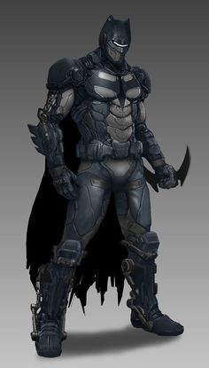 Batman Redesigned by David Sunoo