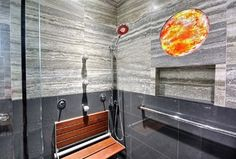 Modern spa bath designed for all family members to comfortably use - modern - bathroom - hawaii - BY DESIGN Builders