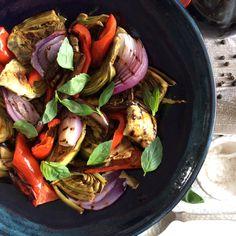Ensalada de Vegetales al Grill | Confieso que Cocino