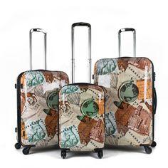 American Green Travel Envoy 3-Piece Hardside Spinner Luggage Set