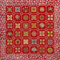 My Baltimore Album Quilt.  Quilt Nihon:  Treasures from Japan. Wisconsin Quilt Museum 2016 exhibit