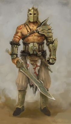 m Barbarian w armor Shoulder armor tattoo design inspiration. Left arm to shield. Right arm to attack. Fantasy Warrior, Fantasy Male, Fantasy Rpg, Medieval Fantasy, Fantasy Artwork, Fantasy Character Design, Character Inspiration, Character Art, Fantasy Inspiration