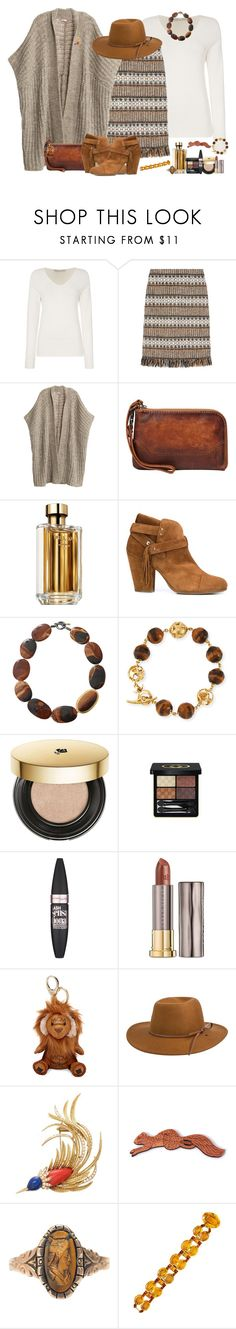 """A Little Nutty"" by winscotthk ❤ liked on Polyvore featuring Oui, Tory Burch, Calypso St. Barth, Frye, Prada, rag & bone, Yossi Harari, Marco Ta Moko, Lancôme and Gucci"