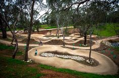 Best pump track jumps trailscapes shepherds hill
