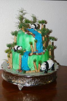 3D Panda Bear Cake Http//wwwcakechoosercom/400/panda  cakepins.com