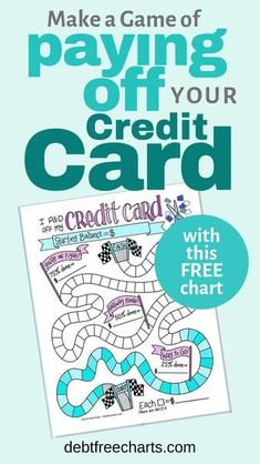 I Paid off my Credit Card - Best Credit Cards - Ideas of Best Credit Cards - Game ON! Use this FREE printable chart to track your credit card payoff progress and turn your debt free journey into a game! I Paid off my Credit Card Debt Free Charts Paying Off Car Loan, Paying Off Student Loans, Cheque, Credit Card Pictures, Picture Credit, Debt Tracker, Paying Off Credit Cards, My Credit, Free Credit