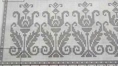 Cross Stitch Bird, Cross Stitch Borders, Cross Stitch Patterns, Knitting Patterns, Crochet Patterns, Filet Crochet, Knit Crochet, Palestinian Embroidery, Graph Design