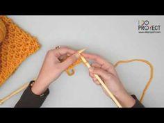 Video tutorial Como tejer punto panal - aprende tejiendo un cuello