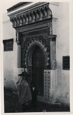 Tarjeta Postal de Tetuan (Marruecos) - Puerta arabe - Foto 1