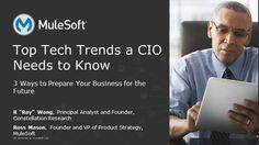 Webinar: Top Tech Trends a CIO Needs To Know