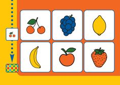 bambino loco 9 fruit Miffy, Coloring Pages, Playing Cards, Fruit, School, Templates, Infant Activities, Creativity, Teaching Supplies